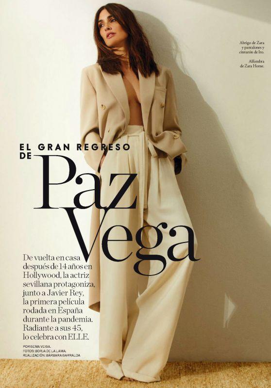 Paz Vega - ELLE Spain June 2021 Issue