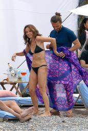 """Philippine Leroy-Beaulieu - """"Emily In Paris"""" Filming Set in Saint-Jean-Cap-Ferrat 05/05/2021"""