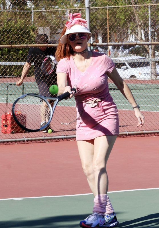 Phoebe Price at the Courts in Los Angeles 05/04/2021