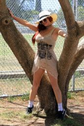 Phoebe Price at the Courts in Los Angeles 05/24/2021