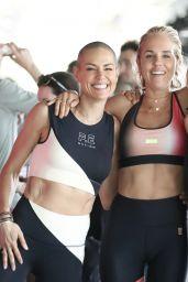 Pip Edwards - Hosts KAAIAA Workout in Brisbane 05/23/2021