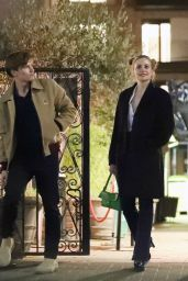 Pixie Lott and Her Fiance Oliver Cheshire - Chelsea Farmer