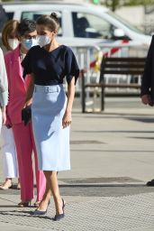 Queen Letizia at Casa America in Madrid 05/19/2021