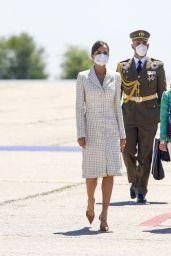 Queen Letizia - Spanish Army Aviation Academy Colmenar Viejo 05/07/2021