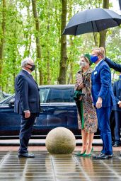 Queen Maxima of the Netherlands - Visits North Limburg 05/27/2021