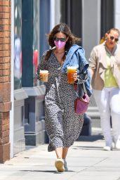 Rachel Bilson Wears an Oversized Dress and Pig Tails - Santa Monica 05/24/2021