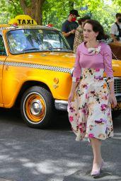 """Rachel Brosnahan - """"The Marvelous Mrs Maisel"""" Set in Manhattan 05/13/2021"""