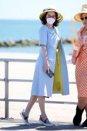 """Rachel Brosnahan - """"The Marvelous Mrs. Maisel"""" Set in New York 05/06/2021"""
