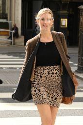 Rachel Riley Leggy in Mini Skirt - London 05/11/2021