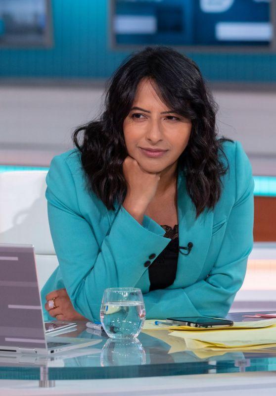 Ranvir Singh – Good Morning Britain TV Show in London 05/12/2021