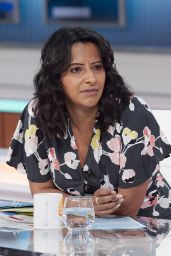 "Ranvir Singh - ""Good Morning Britain"" TV Show in London 05/20/2021"
