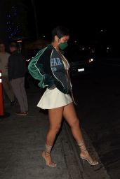 Rihanna at Nobu in West Hollywood 05/17/2021