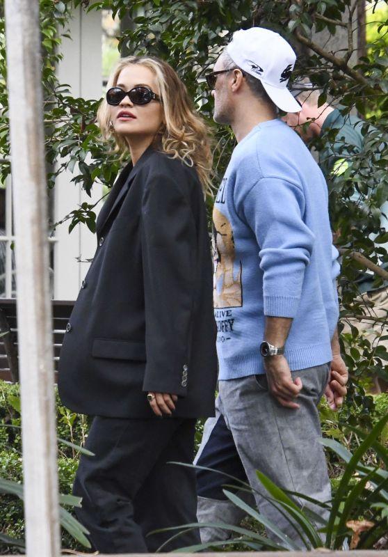 Rita Ora at Chiswick Restaurant in Sydney 05/20/2021