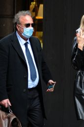 Rita Rusic - Out for Lunch in Milan 05/13/2021