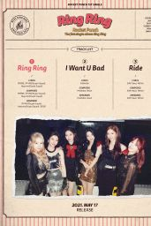 "Rocket Punch - 1st Single Album ""Ring Ring"" Teaser Photos 2021"