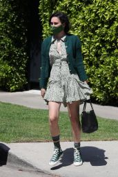Rumer Willis - Exiting Reforma Pilates in West Hollywood 05/14/2021