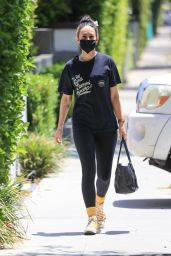 """Rumer Willis - Supports Father Bruce's """"The Bruce Willis Project"""" in West Hollywood 05/12/2021"""