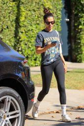 Sara Sampaio Wears a Guns n Roses Shirt - West Hollywood 05/24/2021