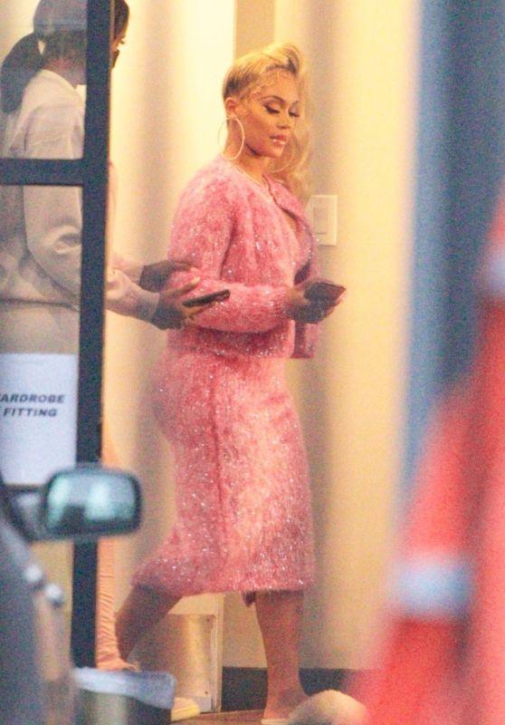Saweetie - Leaving a Photoshoot in Los Angeles 05/11/2021
