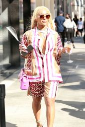 Saweetie - Shopping at Valentino Boutique in Beverly Hills 05/24/2021