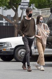 Scout Willis and Boyfriend Jake Miller - Out in Los Angeles 05/17/2021