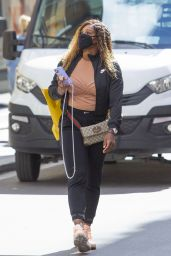 Serena Williams - Shopping at the Gucci Store in Rome 05/13/2021