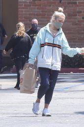 Sharna Burgess Wears a Training Bra - Shopping in Malibu 05/17/2021