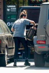 Shay Mitchell - Grocery Shopping at Erewhon Market in Los Feliz 05/25/2021