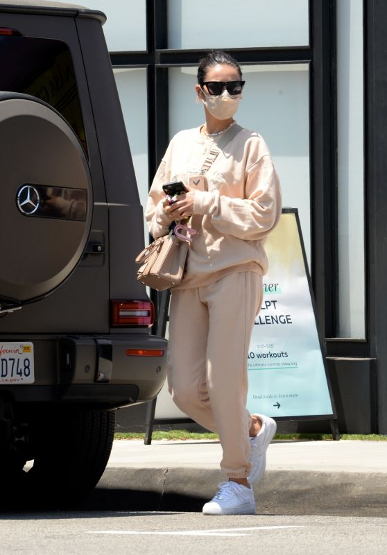 Shay Mitchell - P. Volve Fitness Center in West Hollywood 05/18/2021