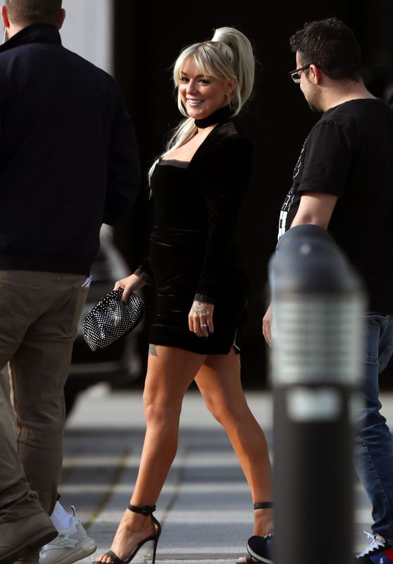 Sheridan Smith - Departing a Hotel to go to the BRIT Awards in London 05/11/2021