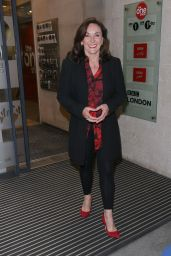 Shirley Ballas - Out in London 04/30/2021