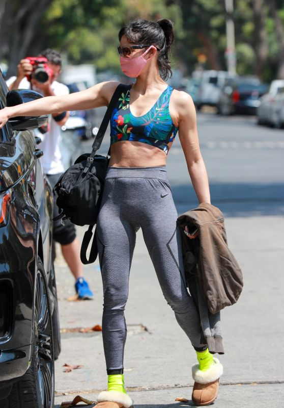 Sofia Boutella - Leaving Pilates in West Hollywood 05/14/2021