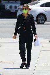 Sofia Richie at Cedars Sinai in Beverly Hills 05/12/2021