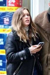 Sophie Cookson - Celebrates Her Birthday With Stephen Campbell Moore in London 05/15/2021