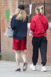 Suki Waterhouse and Imogen Waterhouse - Notting Hill 05/20/2021