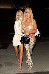 Tana Mongeau in a Cute Outfit at BOA Steakhouse in West Hollywood 05/10/2021