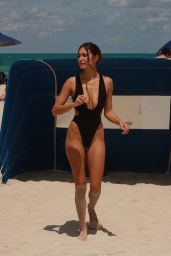 Tao Wickrath in a Swimsuit - Miami 05/18/2021