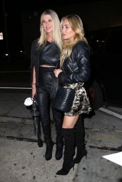Tara Reid and Cassie Scerbo at Craig's in West Hollywood 05/26/2021