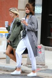 Taylor Hill - Out in Tribeca, New York 05/01/2021