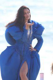 Teodora Djuric in a Fashion Dress From Ben Chellal - L