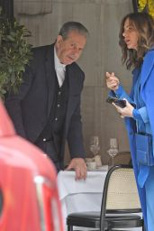 Trinny Woodall and Charles Saatchi - London 05/01/2021