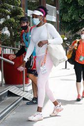 Venus Williams - Arriving at Her Hotel in Paris 05/28/2021