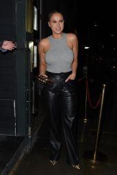 Vicky Pattinson - Ours Restaurant in Knightsbridge 05/20/2021