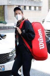 Victoria Azarenka Arriving at Her Hotel in Paris 05/29/2021