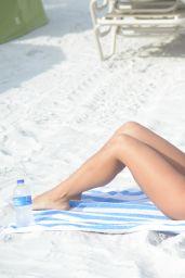 Victoria Banxxx in a Bikini on the Beach in Miami 05/06/2021