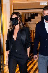Victoria Beckham and David Beckham at Carbone Restaurant in New York 05/25/2021