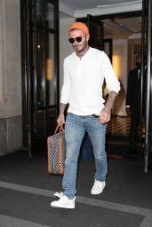 Victoria Beckham and David Beckham - Leaving Their Hotel in New York 05/26/2021