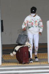 Vivica A. Fox - Arriving at LAX in LA 05/10/2021