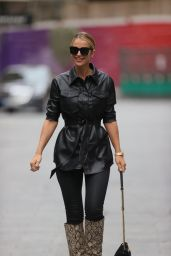 Vogue Williams in Print Boots - London 05/23/2021