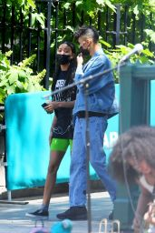 Willow Smith - Union Square Park in New York 05/25/2021